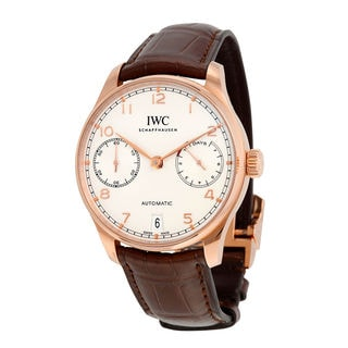IWC Portugieser IW500701 Men's Silver Dial Watch