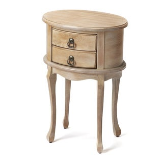 Butler Whitley Driftwood Oval Side Table