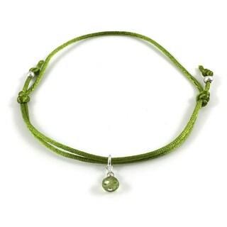 iCreate Peridot Adjustable Bracelet