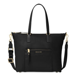 Michael Kors Ariana Black Nylon Large Tote Bag
