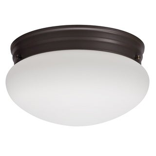 Lithonia Lighting 10976 BZ M4 Bronze 23 Watt Mushroom Flush Mount
