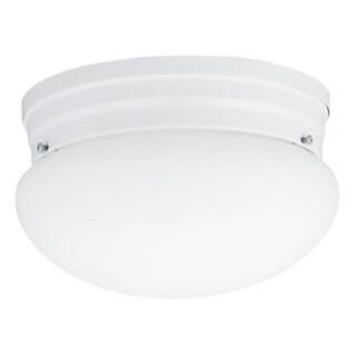 Lithonia Lighting 10976 WH M4 White 23 Watt Mushroom Flush Mount