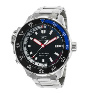 IWC Aquatimer IW354703 Men's Black Dial Watch