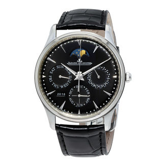 Jaeger-LeCoultre Master Q1308470 Men's Black Dial Watch