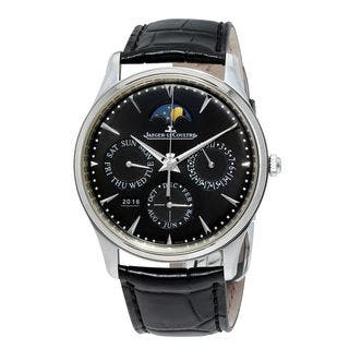 Jaeger-LeCoultre Master Q1308470 Men's Black Dial Watch|https://ak1.ostkcdn.com/images/products/13373055/P20072362.jpg?impolicy=medium