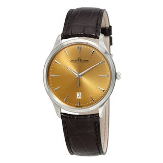 Jaeger-LeCoultre Master Q1288430 Men's Champagne Dial Watch