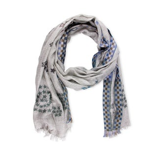 Saachi Women's Star Cashmere & Modal Blend Scarf (India)