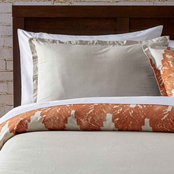 City Scene Kuma Copper Duvet Cover & Sham Set