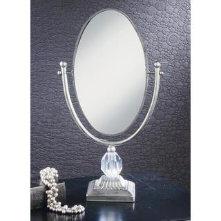 Antique Silver 20-inch Boutique Mirror