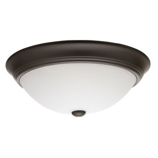Lithonia Lighting 11983 BZ M2 55 Watt Bronze D cor Round Flush Mount