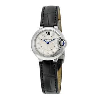 Cartier Ballon Bleu De Cartier Women's Silver Dial Watch