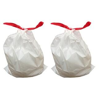 20pk Replacement Garbage Bags, Fits Simplehuman Trash Bins, 30-45L / 8-12 Gallon, Style-J