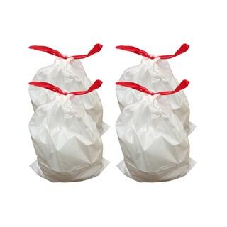 40pk Replacement Garbage Bags, Fits Simplehuman Trash Bins, 30-45L / 8-12 Gallon, Style-J