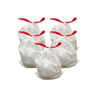 50pk Replacement Garbage Bags, Fits Simplehuman Trash Bins, 30-45L / 8-12 Gallon, Style-J