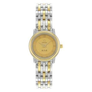 Omega De Ville 43701200 Women's Champagne Dial Watch