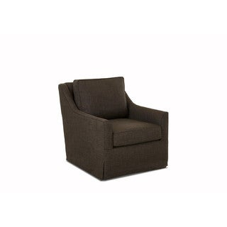 Klaussner Furniture Leander Polyester Swivel Gliding Rocker