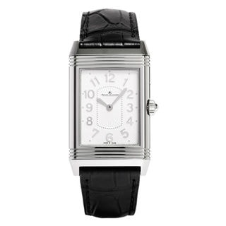 Jaeger-LeCoultre Reverso Q3308421 Women's Silver Mother of Pearl Dial Watch