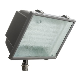 Lithonia Lighting White Aluminum Wall-Mount Outdoor Fluorescent Fixture