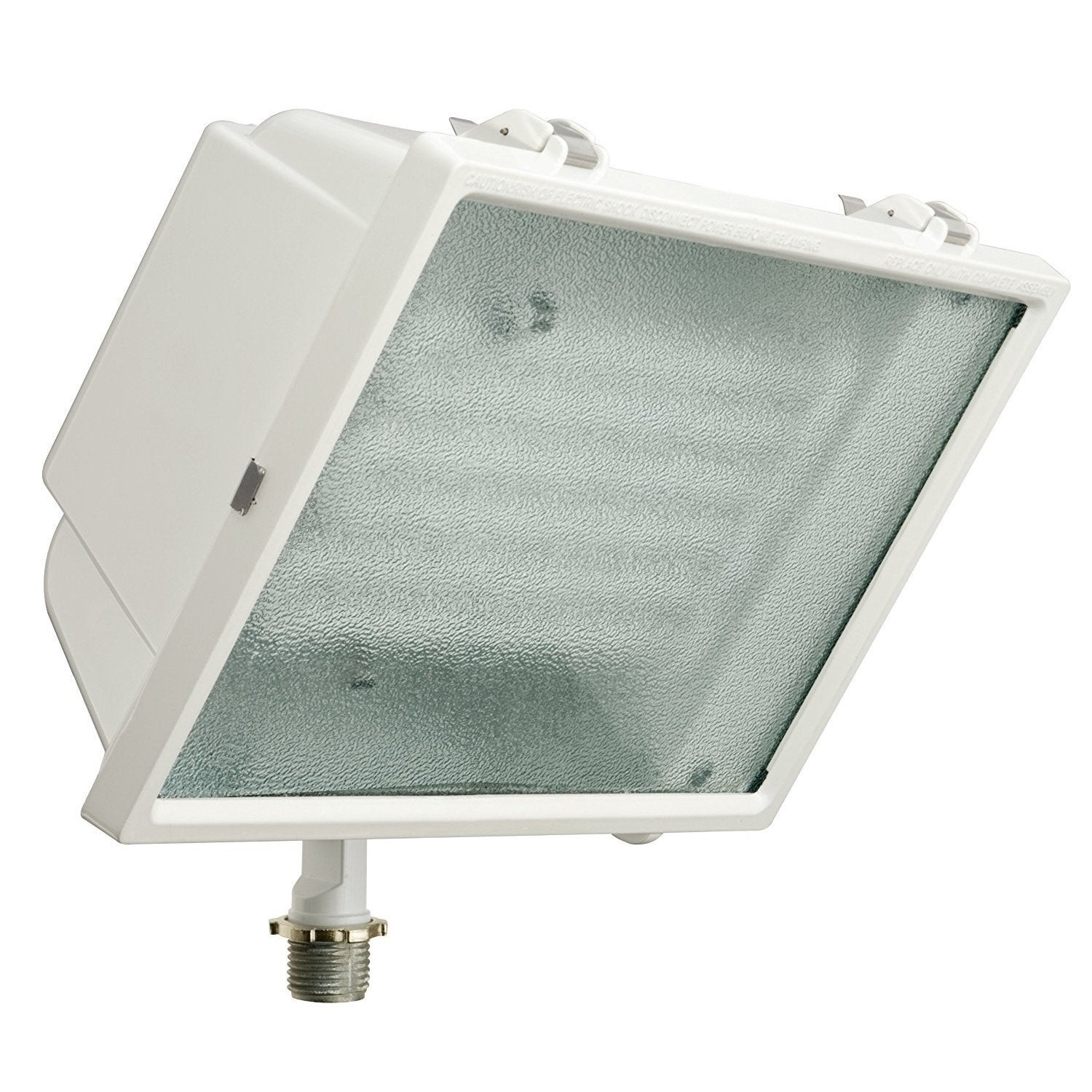 Lithonia Lighting White Metal LED Outdoor Flood Light (14...