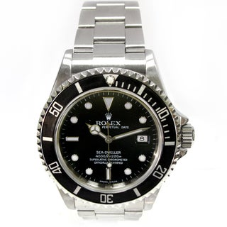 Pre-Owned Rolex Men's Stainless Steel Sea Dweller Watch