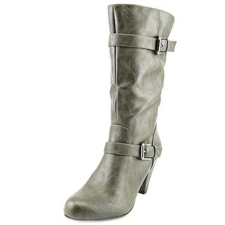 Nine West Women's 'Danica' Grey Faux Leather Boots