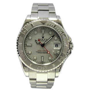 Pre-Owned Rolex Women's Midsize Stainless Steel Yachtmaster Watch|https://ak1.ostkcdn.com/images/products/13373459/P20072749.jpg?impolicy=medium