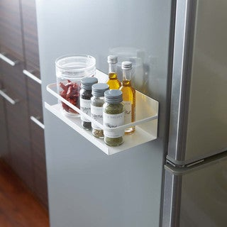 White Plate Magnetic Spice Rack by Yamazaki Home