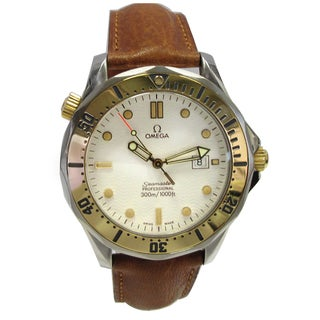 Pre-owned 41mm Two-tone Omega Seamaster Watch