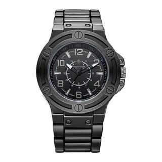 Timothy Stone Men's Quartz Manis Polished Black Watch