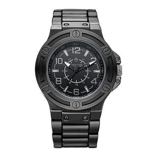 Timothy Stone Men's Quartz Manis Polished Black Watch|https://ak1.ostkcdn.com/images/products/13373489/P20072755.jpg?impolicy=medium