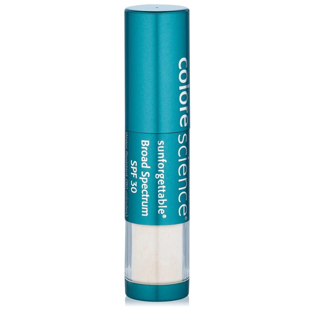 ColoreScience Sunforgettable Brush-On Sunscreen SPF30 0.21 oz / 6 g Fair (White/Blue - Facial Sunscreen)