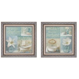Danhui Nai 'Parfum' Framed Art (Set of 2)