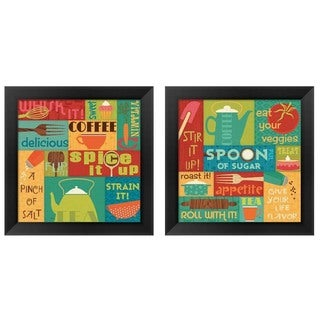 Pela Studio 'Kitchen It!' Framed Art (Set of 2)