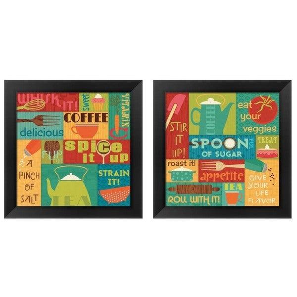 Pela Studio U0026#x27;Kitchen It!u0026#x27; Framed Art (