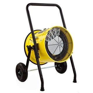 Dr. Infrared Heater Salamander Construction 15000-Watt, Single Phase, 240-Volt Portable Fan Forced Electric Heater