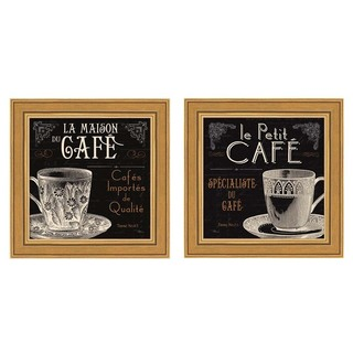 Pela Studio 'Flavors of France' Framed Art (Set of 2)
