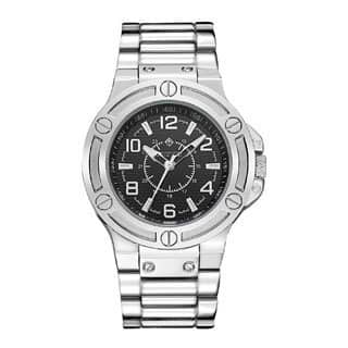 Timothy Stone Men's Quartz MANIS Sliver-Tone Watch|https://ak1.ostkcdn.com/images/products/13373833/P20073096.jpg?impolicy=medium