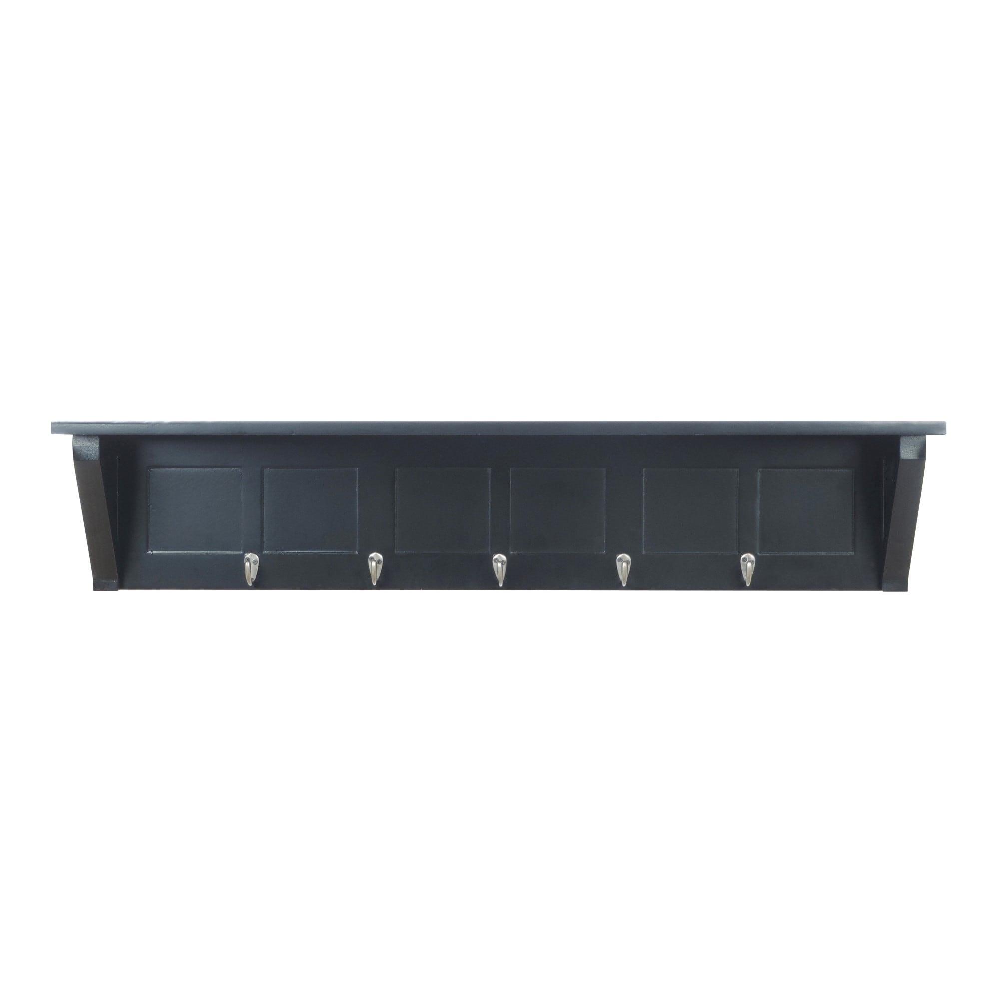 Metal 40 Inch Wall Shelf