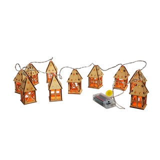 Christmas House String Lights (Pack of 10)