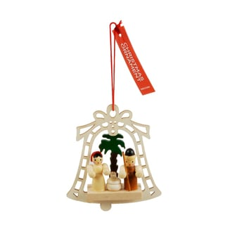 House Wooden Hanging Christmas Ornament