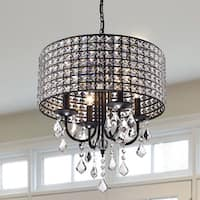 Chione Crystal 4-light Drum Chandelier
