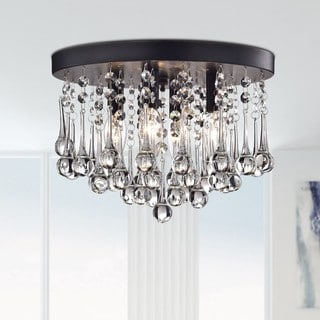 Scelene Crystal 4-light Flush Mount