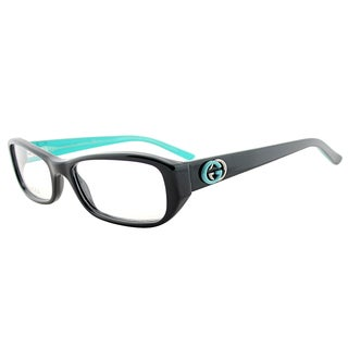 Gucci GG 3202 QI1/17 Black Mint Plastic 53-millimeter Rectangle Eyeglasses