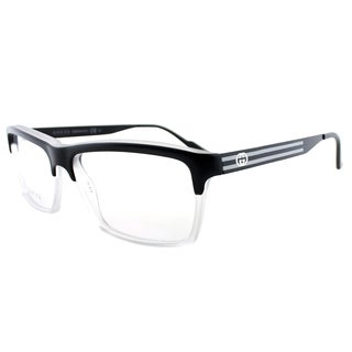 Gucci Matte Black Plastic 53-millimeter Rectangle Eyeglasses