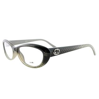 Gucci GG 3566 W9R/16 Grey Plastic 52-millimeter Cat-eye Eyeglasses
