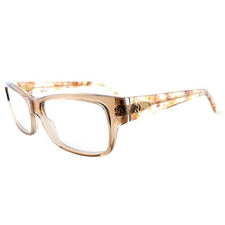 Gucci GG 3570 WS3 Brown Plastic 54-millimeter Transparent Rectangle Eyeglasses