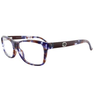 Gucci GG 3608 Purple Havana Plastic Rectangle Eyeglasses