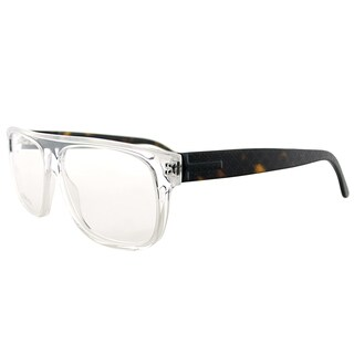 Gucci GG Crystal Plastic Rectangle Eyeglasses