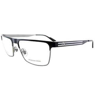 Gucci GG 2205 WWE Matte Ruthenium Grey Metal 54-millimeter Rectangle Eyeglasses