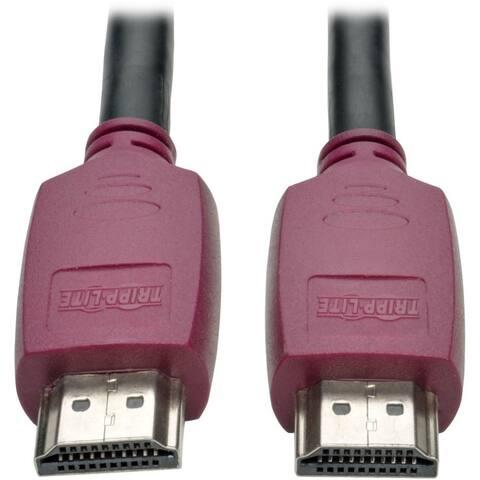 Tripp Lite 10ft Premium Hi-Speed HDMI Cable w Grip Connectors 4K@60Hz 10'